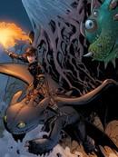 驯龙高手:燃烧的午夜漫画